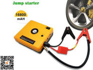 Heavy Duty Truck Pocket Power Bank Portable Auto Jump Starter Yellow 16800mAH