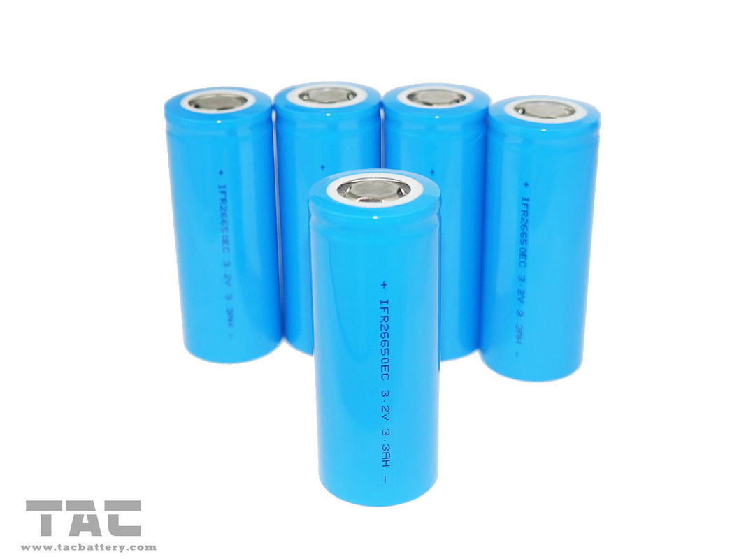 Rechargeable Lithium Batteries IFR26650 3.2V 2300mAh 10C for Power Tool
