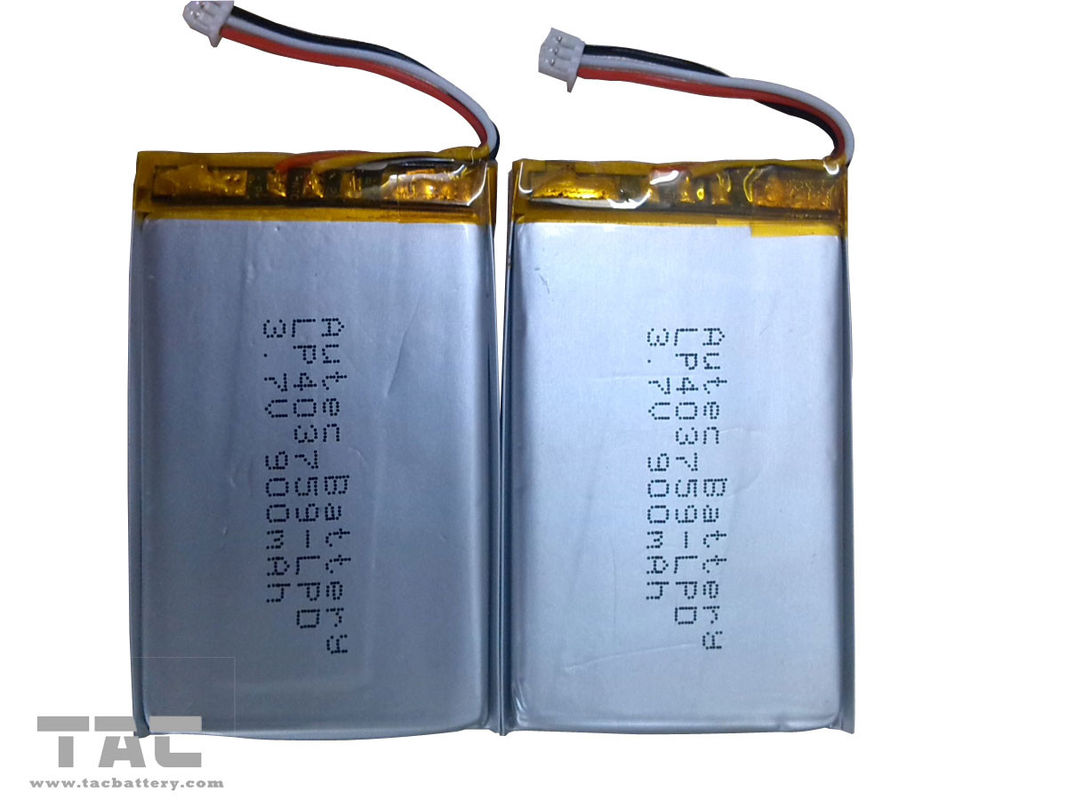 Lithium Polymer Battery Pack   LP403759 3.7v 900mah for Table PC