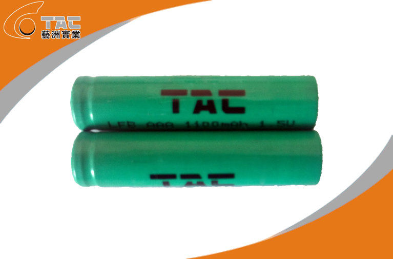 LiFeS2 1.5V AA/ L92 2700 mAh Primary Lithium Iron Battery with High Rate