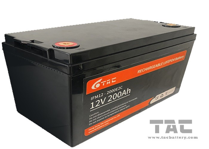 Deep Circle Solar Lifepo4 Battery 12V  200AH Similar With VRLA