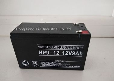 Chiny 9.0ah Sealed Lead Acid Battery Pack do pojazdu E / Lifepo4 Battery Pack 12V fabryka